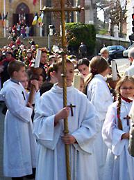 Fête Patronale d'Arcachon - Procession fleurie